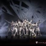Precioso espectáculo ensayado en la Escuela de Baile de Talavera, con vestidos blancos.